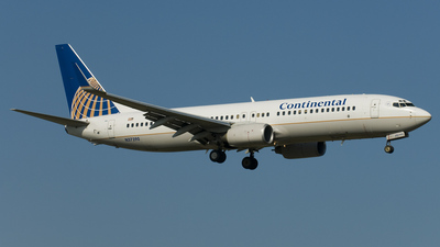 N37290 - Boeing 737-824 - Continental Airlines