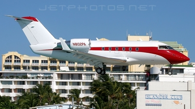 N802PA - Bombardier CL-600-2B16 Challenger 604 - Presidential Aviation