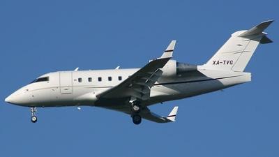 XA-TVG - Bombardier CL-600-2B16 Challenger 604 - Private