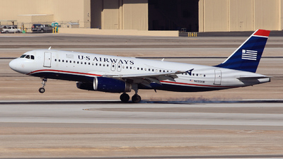 N655AW - Airbus A320-232 - US Airways
