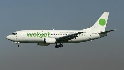PT-MNJ - Boeing 737-33A - WebJet Linhas Aéreas