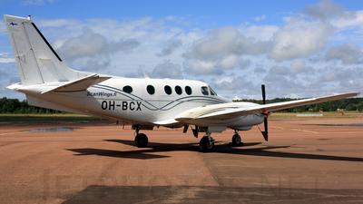 OH-BCX - Beechcraft C90 King Air - Scanwings