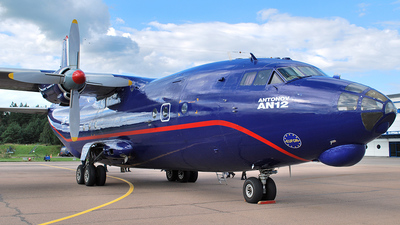 UR-CGV - Antonov An-12BK - Meridian Aviation
