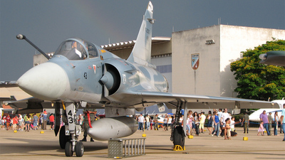 FAB4943 - Dassault Mirage 2000C - Brazil - Air Force