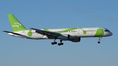 N638DL - Boeing 757-232 - Song