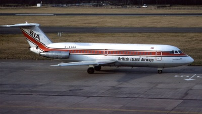 G-AXBB - British Aircraft Corporation BAC 1-11 Series 409AY - British Island Airways