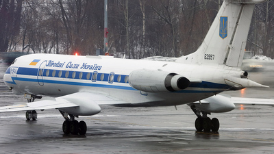 UR-63957 - Tupolev Tu-134A-3 - Ukraine - Government