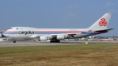 LX-KCV - Boeing 747-4R7F(SCD) - Cargolux Airlines International