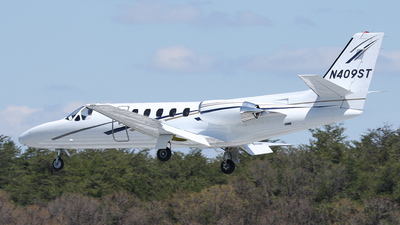 N409ST - Cessna 550 Citation II - Private