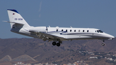 OE-GEM - Cessna 680 Citation Sovereign - Jet Pool Network