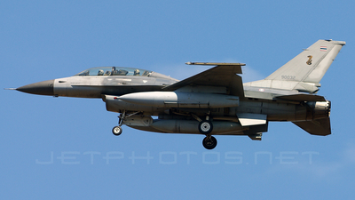 Kh19K-19/38 - General Dynamics F-16B Fighting Falcon - Thailand - Royal Thai Air Force