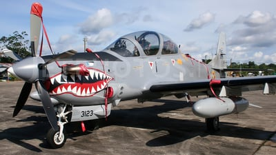 FAC3123 - Embraer A-29B Super Tucano - Colombia - Air Force