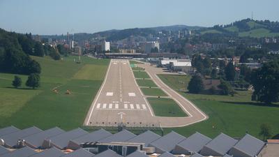 LSGC - Runway - Airport Overview