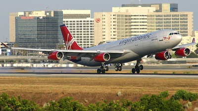 G-VAEL - Airbus A340-311 - Virgin Atlantic Airways