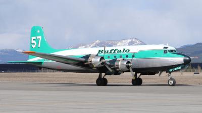 C-FIQM - Douglas DC-4 - Buffalo Airways