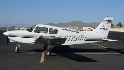 N113ND - Piper PA-28-161 Cadet - RAA - Regional Airline Academy