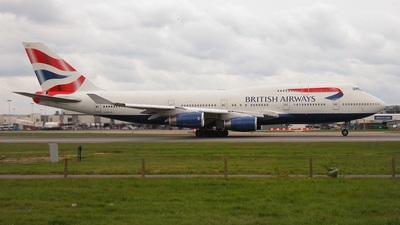 G-BNLM - Boeing 747-436 - British Airways