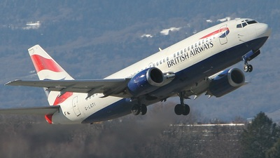 G-LGTI - Boeing 737-3Y0 - British Airways