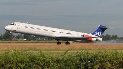 LN-ROY - McDonnell Douglas MD-82 - Scandinavian Airlines (SAS)
