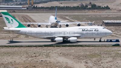 EK-74713 - Boeing 747-3B3(M) - Mahan Air (Blue Sky)