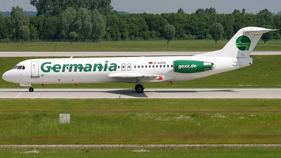D-AGPQ - Fokker 100 - Germania