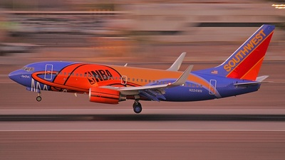 N224WN - Boeing 737-7H4 - Southwest Airlines