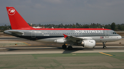 N349NB - Airbus A319-114 - Northwest Airlines