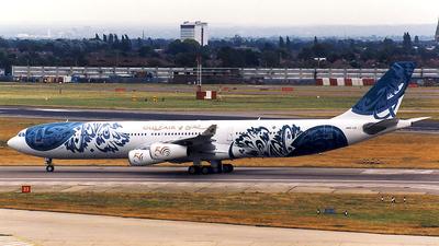 A4O-LD - Airbus A340-312 - Gulf Air