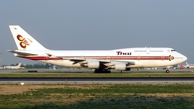 HS-TGK - Boeing 747-4D7 - Thai Airways International