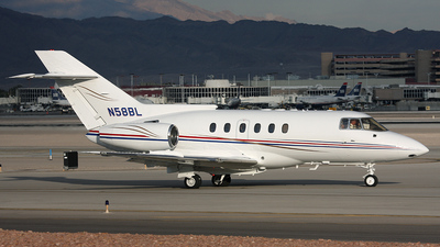 N58BL - British Aerospace BAe 125-800A - Private