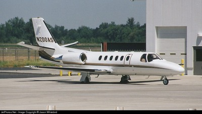 N200AS - Cessna 550B Citation Bravo - Private