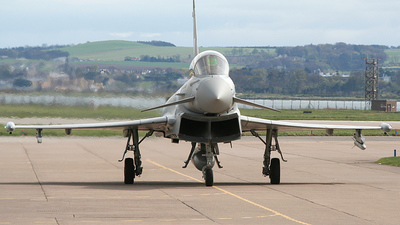 ZJ805 - Eurofighter Typhoon T.1 - United Kingdom - Royal Air Force (RAF)