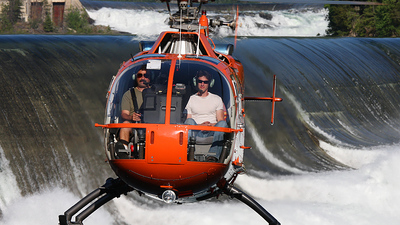 C-GKWW - MBB Bo105LSA-3 - Dam Helicopters