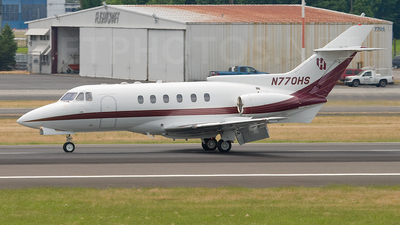 N770HS - Hawker Siddeley HS-125-700A - Private