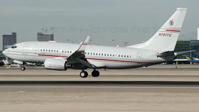 N781TS - Boeing 737-75V(BBJ) - Private