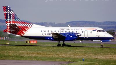 G-LGNA - Saab 340B - British Airways (Loganair)