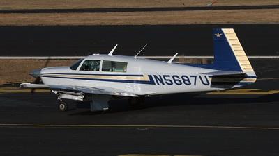 A picture of N5687U - Mooney M20J - [241404] - © Paul Robbins - Nashville Aviation Photographers