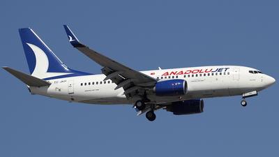 TC-JKH - Boeing 737-76N - AnadoluJet