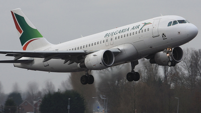 LZ-FBA - Airbus A319-112 - Bulgaria Air (Hemus Air)
