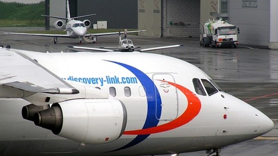 D-AWUE - British Aerospace BAe 146-200 - Discovery Link