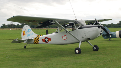 G-PDOG - Cessna O-1 Bird Dog - Private