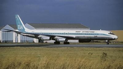 N4867T - Douglas DC-8-63(CF) - Trans International Airlines