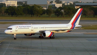 9N-ACA - Boeing 757-2F8 - Royal Nepal Airlines