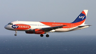 G-CRPH - Airbus A320-231 - MyTravel Airways