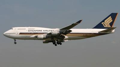 9V-SMS - Boeing 747-412 - Singapore Airlines