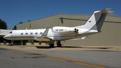 VH-OSW - Gulfstream G-IV - Avwest Aviation