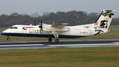 G-BRYY - Bombardier Dash 8-Q311 - British Airways (CitiExpress)