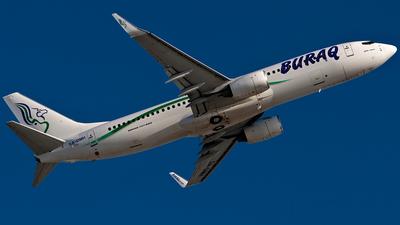 5A-DMH - Boeing 737-8GK - Buraq Air