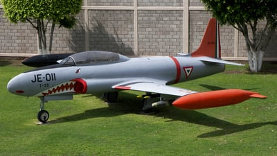 JE-011 - Lockheed T-33A Shooting Star - Mexico - Air Force
