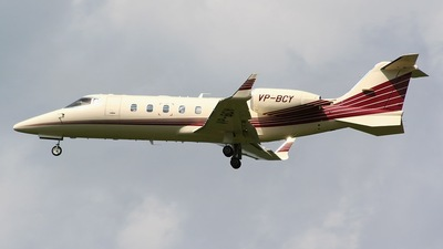 VP-BCY - Bombardier Learjet 60 - Private